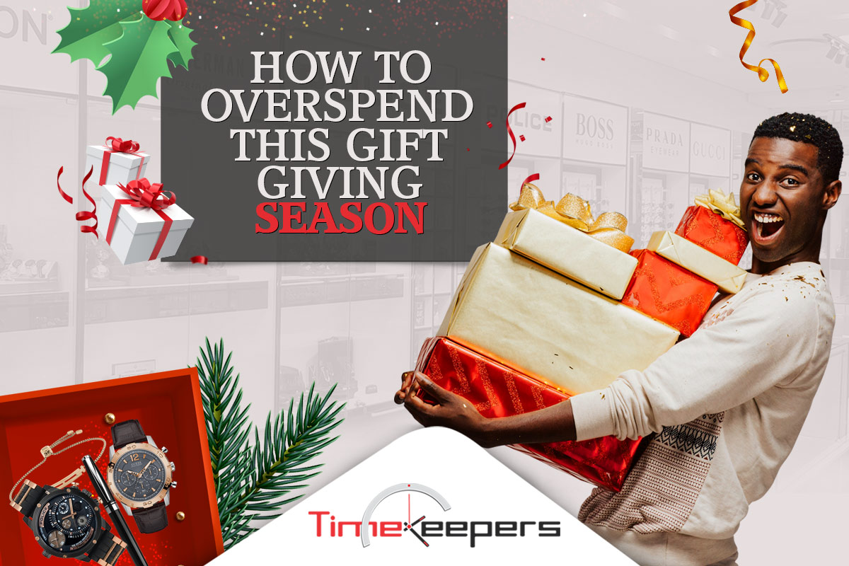 How to Overspend this gift giving Season